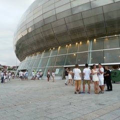 Photo taken at Palacio de los Deportes by Luis B. on 8/11/2012