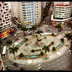 Photo taken at Praça da Independência by Breno F. on 1/29/2012