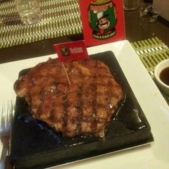 Photo taken at Bobby's Steak & d'grill Stone by Melati W. on 8/21/2012