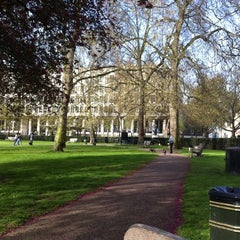 Photo taken at Grosvenor Square by Mohd Khairulnizam H. on 4/10/2011