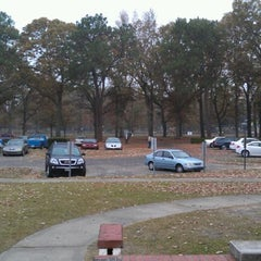 Photo taken at WSE Student Parking Lot by Tyler G. on 11/17/2011