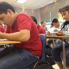 Photo taken at RHS Mr. Abbs English IV by Zachary P. on 4/30/2012