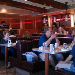 Photo taken at Americana Diner by Charlene M. on 4/6/2012