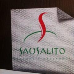 Photo taken at Sausalito - Saladas e Grelhados by Sidnei Donizetti P. on 1/15/2012