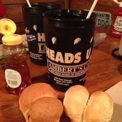 Photo taken at Lambert's Cafe by Teresa Gibbons B. on 5/10/2012