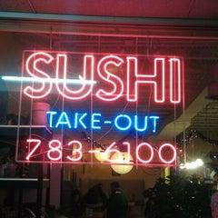 Photo taken at Yoshi Sushi by Nikki A. on 12/24/2011