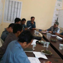 Photo taken at Meeting Room Jatibarang Dam by SUPRIYANTO on 1/19/2012