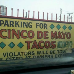 Photo taken at Cinco de Mayo by pete r. on 10/21/2011
