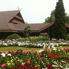 Photo taken at พระตำหนักดอยตุง (Doi Tung Royal Villa) by Ranya K. on 3/23/2012