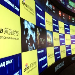 Photo taken at Nasdaq by Qimei L. on 3/2/2012