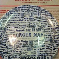 Photo taken at The Burger Map by Juliana F. on 8/3/2012