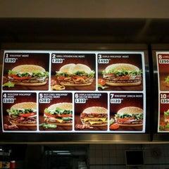 Photo taken at Burger King by InCash ügyvitel P. on 2/19/2012