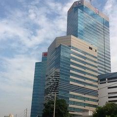 Photo taken at อาคารมาลีนนท์ (Maleenont Tower) by Korakan Y. on 5/10/2012