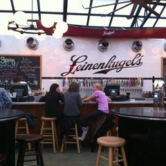Photo taken at Leinenkugel's Beer Garden by Stu L. on 3/31/2012