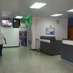 Photo taken at Aeropuerto General Tomás De Heres (CBL) by Gregory F. on 6/25/2012