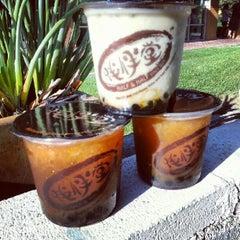 Photo taken at Half & Half Tea Express 伴伴堂 by Jedd C. on 9/2/2012