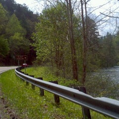 Photo taken at Team Redline Palace ~ Lake Chatuge, N.C. by Ryan J. on 4/3/2012