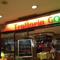 Photo taken at Trattoria Gourmet's by Jerome C. on 7/20/2012