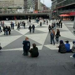 Photo taken at Sergels Torg by Nils G. on 5/4/2012