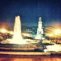 Photo taken at Plaza de España by Adriii on 2/18/2012