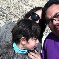 Photo taken at Playa Los Tubos by David M. on 5/21/2012