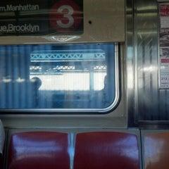 Photo taken at MTA Subway - Saratoga Ave (3) by Rodney J. on 6/26/2012