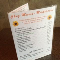 Photo taken at Chez Marie-Madeleine by Mika K. on 2/21/2012