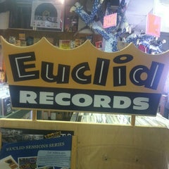 Photo taken at Euclid Records by crystal P. on 9/7/2012