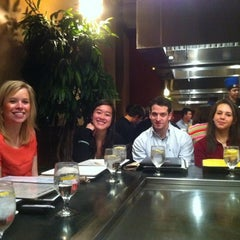 Photo taken at Aki Japanese Cuisine by Toph T. on 3/4/2012