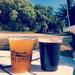 Photo taken at Park Chalet Garden Restaurant by Tiffany D. on 5/28/2012