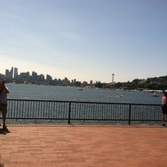 Photo taken at Gas Works Park by Josephine C. on 8/11/2012