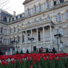 Photo taken at Baltimore City Hall by JB J. on 4/13/2013