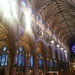 Photo taken at Saint Francis Xavier College Church by Jessica Y. on 5/12/2013