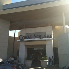 Photo taken at Coral Square by Antonio W. on 11/4/2012