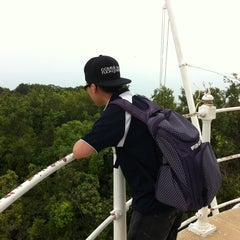 Photo taken at Muka Head Lighthouse by vannez c. on 8/3/2014