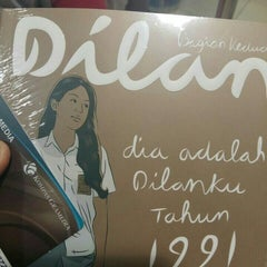 Photo taken at Gramedia by Astrid F. on 8/9/2015