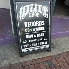 Photo taken at Armageddon Records by Erik S. on 3/26/2014