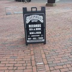 Photo taken at Armageddon Records by Erik S. on 3/31/2013