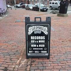 Photo taken at Armageddon Records by Erik S. on 1/12/2014
