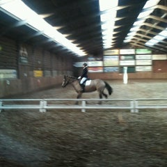 Photo taken at Manege het Fruithof by Cor M. on 11/11/2012