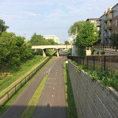 Photo taken at The Midtown Greenway by Christina S. on 5/31/2014