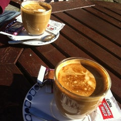 Photo taken at Café - Bar Carabela by Al V. on 11/11/2012