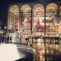 Photo taken at The Metropolitan Opera by chris on 12/8/2012