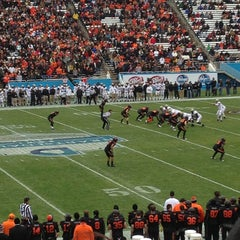 Photo taken at Cotton Bowl by Dava W. on 1/1/2013