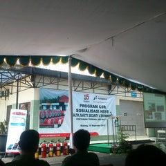Photo taken at Pertamina Terminal BBM Malang by bathoks b. on 11/10/2012