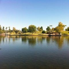 Photo taken at Kiwanis Park by Oral Robert W. on 10/16/2012