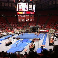 Photo taken at Jon M. Huntsman Center by Molly B. on 12/8/2012