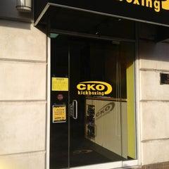 Photo taken at CKO Kickboxing of Carroll Gardens by Richard S. on 1/3/2013