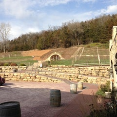 Photo taken at Wollersheim Winery by Kevin F. on 11/3/2012