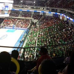 Photo taken at Mall of Asia Arena by Angeline G. on 6/22/2013